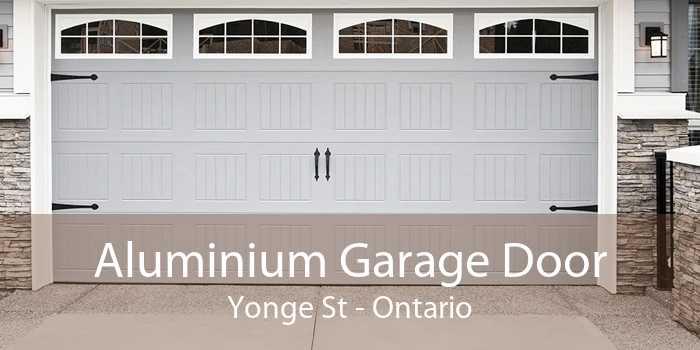 Aluminium Garage Door Yonge St - Ontario