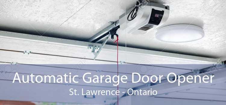 Automatic Garage Door Opener St. Lawrence - Ontario