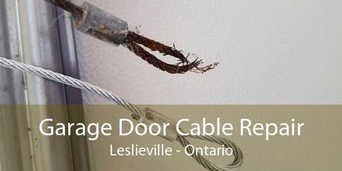 Garage Door Cable Repair Leslieville - Ontario