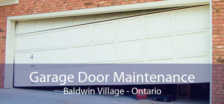 Garage Door Maintenance Baldwin Village - Ontario