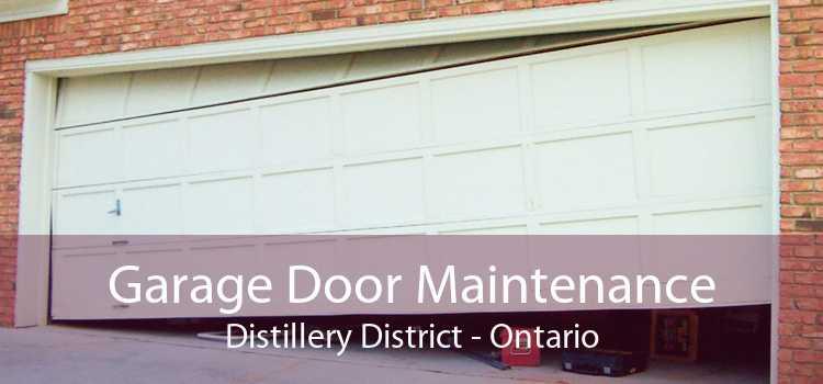 Garage Door Maintenance Distillery District - Ontario