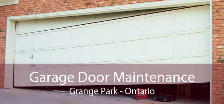 Garage Door Maintenance Grange Park - Ontario