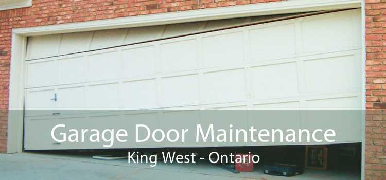 Garage Door Maintenance King West - Ontario