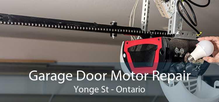Garage Door Motor Repair Yonge St - Ontario