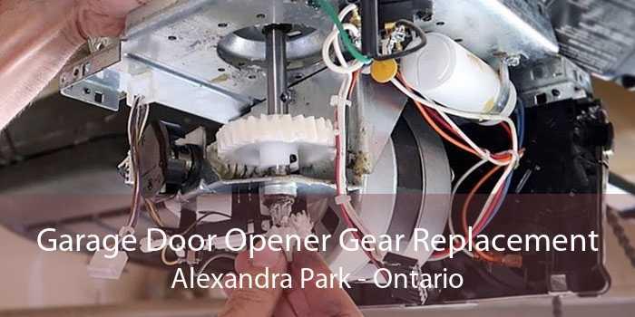 Garage Door Opener Gear Replacement Alexandra Park - Ontario