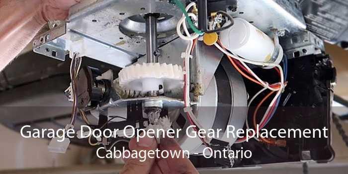 Garage Door Opener Gear Replacement Cabbagetown - Ontario