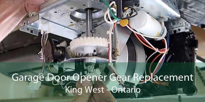 Garage Door Opener Gear Replacement King West - Ontario