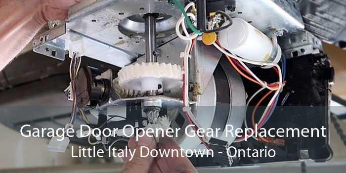 Garage Door Opener Gear Replacement Little Italy Downtown - Ontario