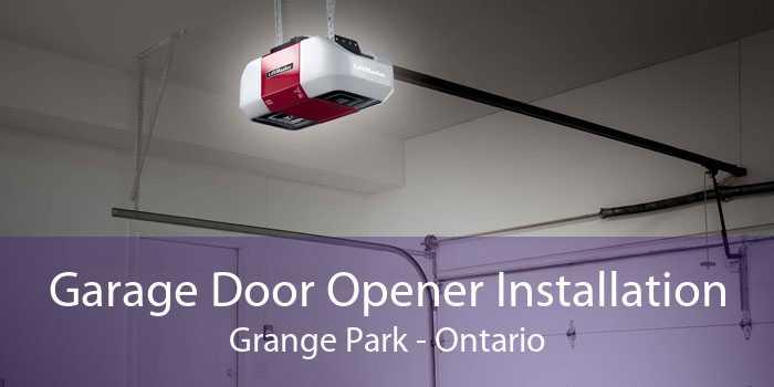 Garage Door Opener Installation Grange Park - Ontario