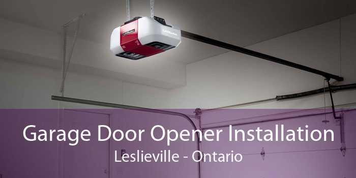 Garage Door Opener Installation Leslieville - Ontario