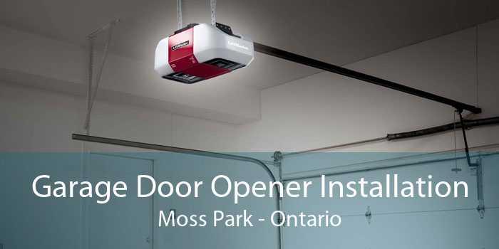 Garage Door Opener Installation Moss Park - Ontario