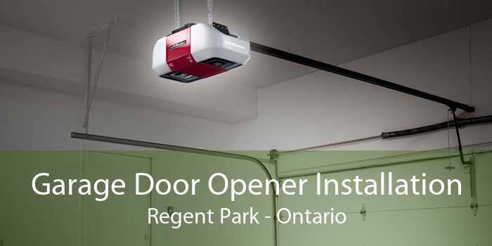 Garage Door Opener Installation Regent Park - Ontario
