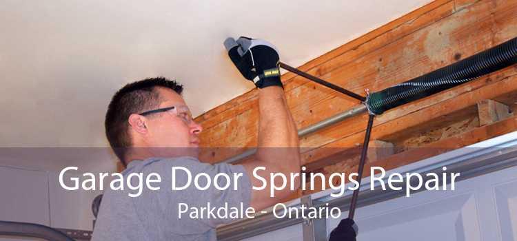 Garage Door Springs Repair Parkdale - Ontario