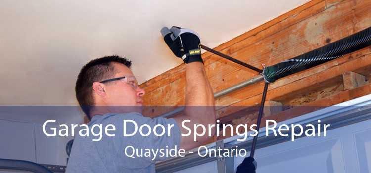 Garage Door Springs Repair Quayside - Ontario
