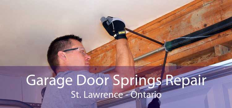 Garage Door Springs Repair St. Lawrence - Ontario