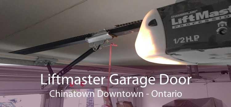 Liftmaster Garage Door Chinatown Downtown - Ontario