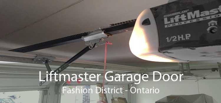 Liftmaster Garage Door Fashion District - Ontario