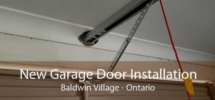 New Garage Door Installation Baldwin Village - Ontario