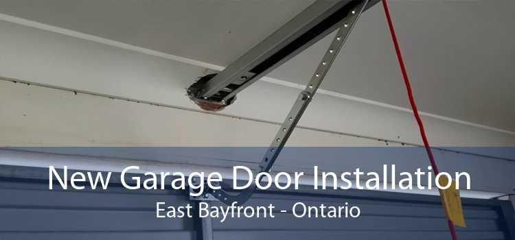 New Garage Door Installation East Bayfront - Ontario