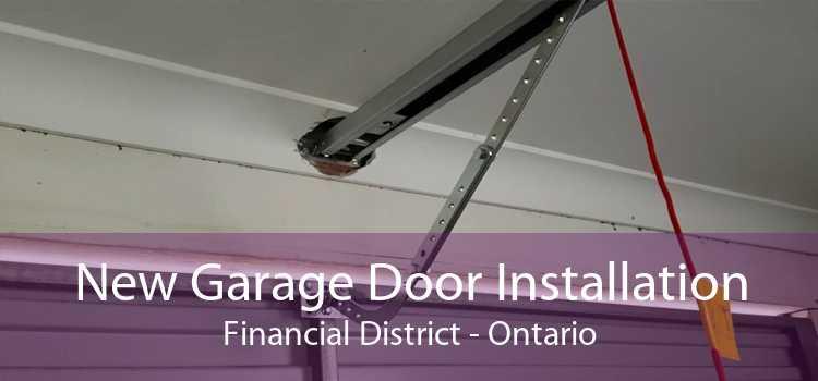 New Garage Door Installation Financial District - Ontario