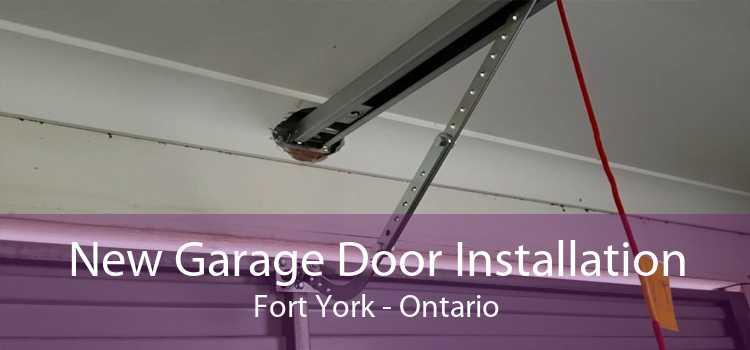 New Garage Door Installation Fort York - Ontario