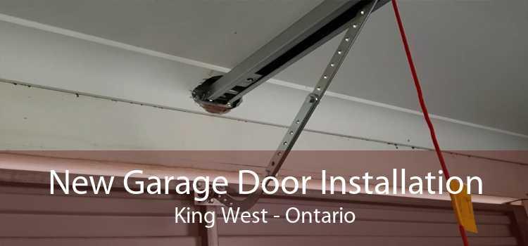 New Garage Door Installation King West - Ontario