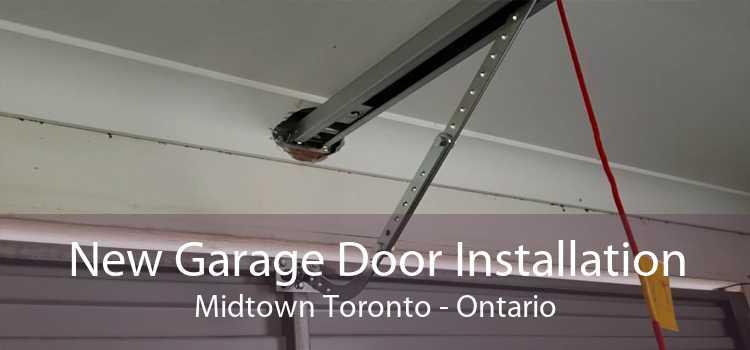 New Garage Door Installation Midtown Toronto - Ontario