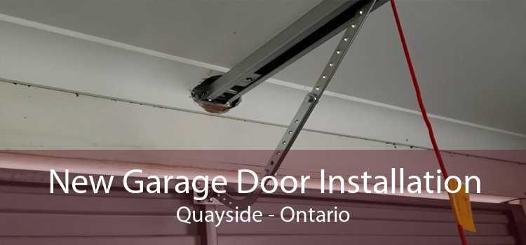 New Garage Door Installation Quayside - Ontario