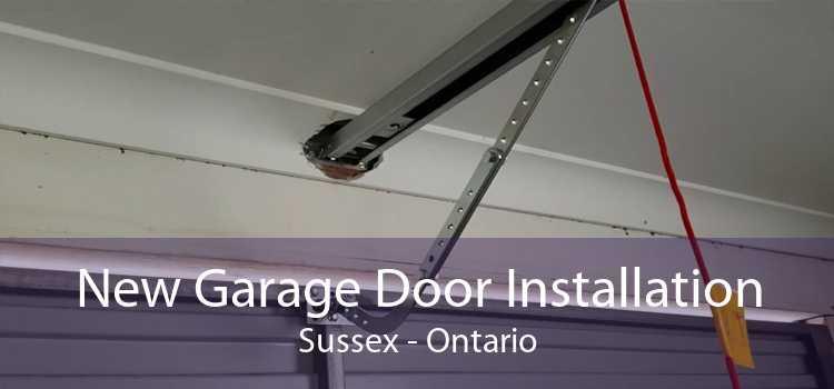 New Garage Door Installation Sussex - Ontario