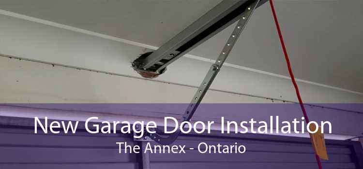 New Garage Door Installation The Annex - Ontario