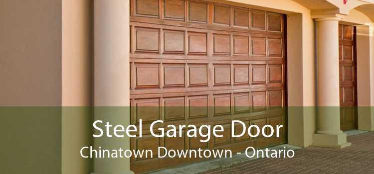 Steel Garage Door Chinatown Downtown - Ontario