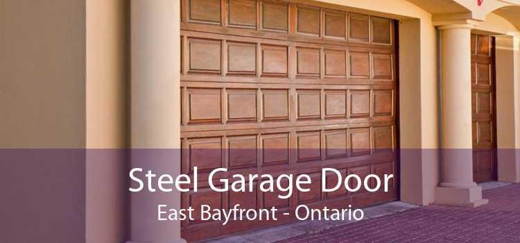 Steel Garage Door East Bayfront - Ontario
