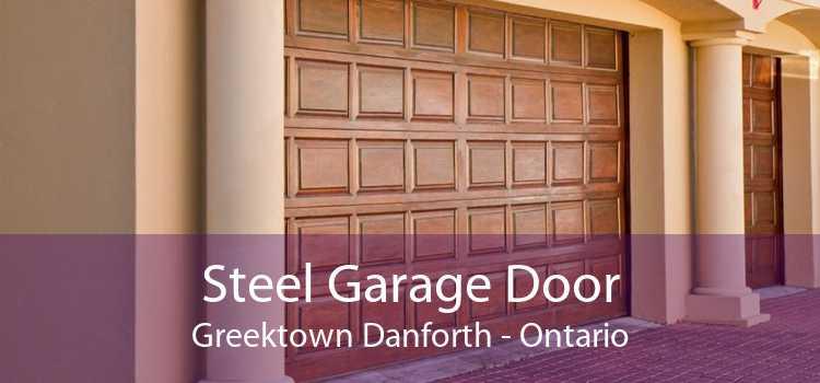 Steel Garage Door Greektown Danforth - Ontario