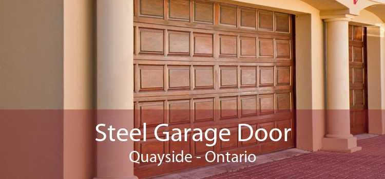 Steel Garage Door Quayside - Ontario