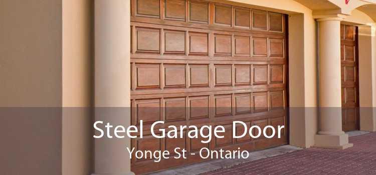 Steel Garage Door Yonge St - Ontario