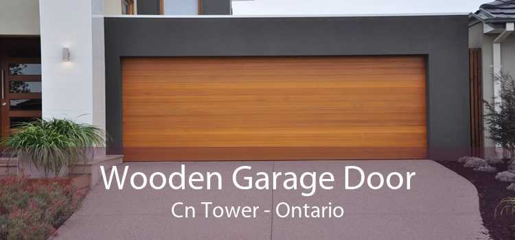 Wooden Garage Door Cn Tower - Ontario