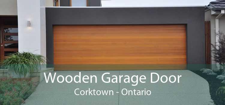 Wooden Garage Door Corktown - Ontario