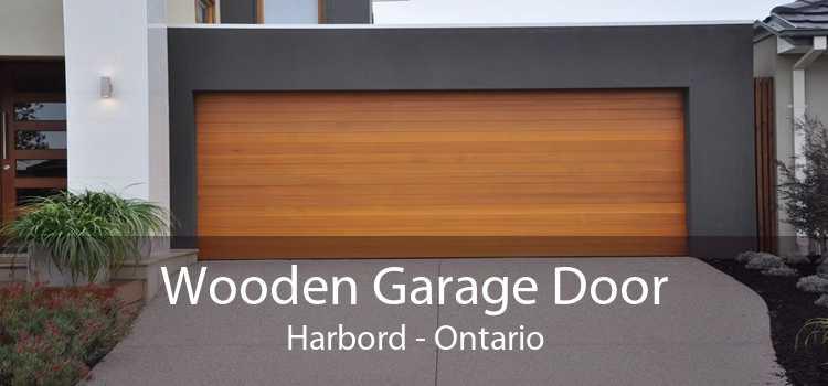 Wooden Garage Door Harbord - Ontario