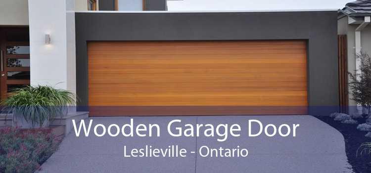 Wooden Garage Door Leslieville - Ontario