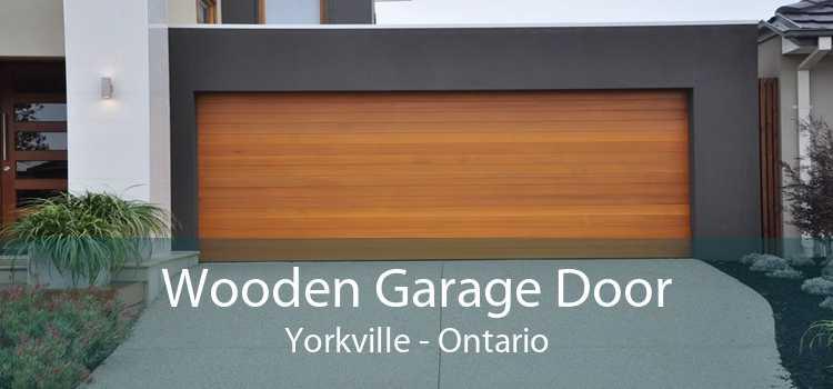 Wooden Garage Door Yorkville - Ontario